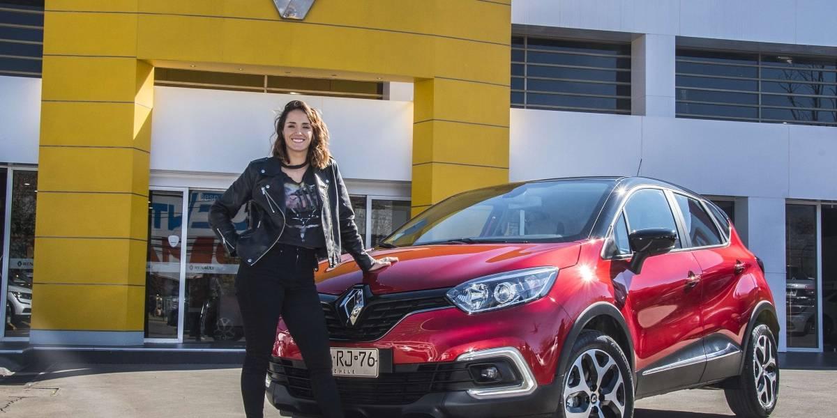 Isidora Urrejola se convierte en embajadora del Renault Captur