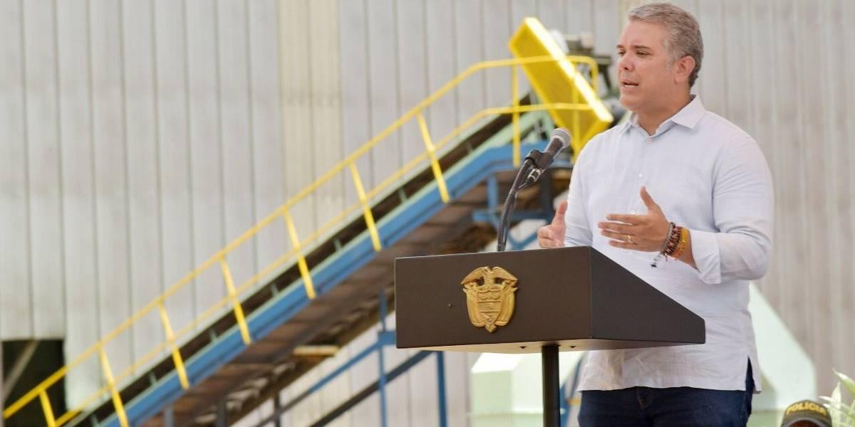 Duque dice que fortalecerá la capacidad de la fuerza pública en el Catatumbo