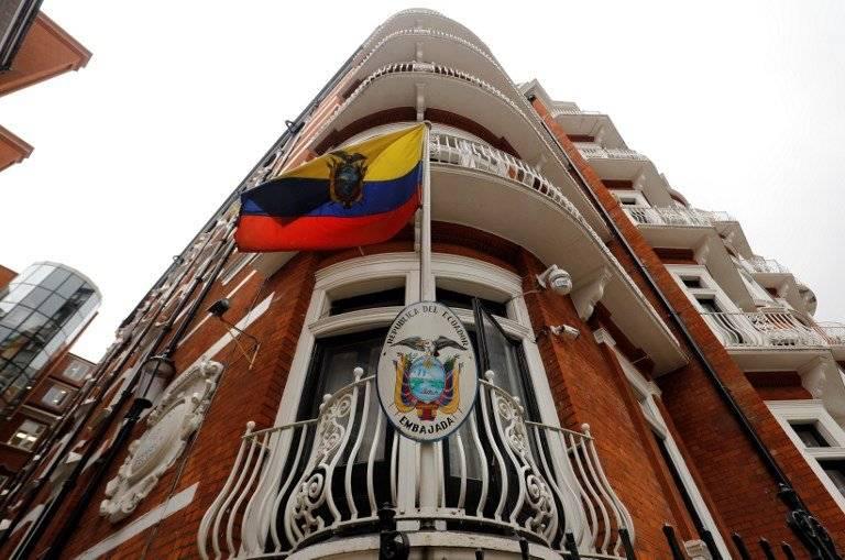 Embajada ecuatoriana en Londres