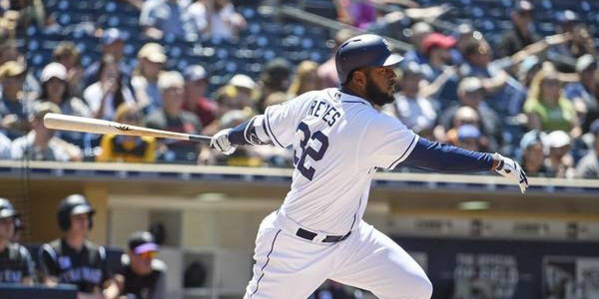 Franmil Reyes sigue ardiendo con el bate en Grandes Ligas
