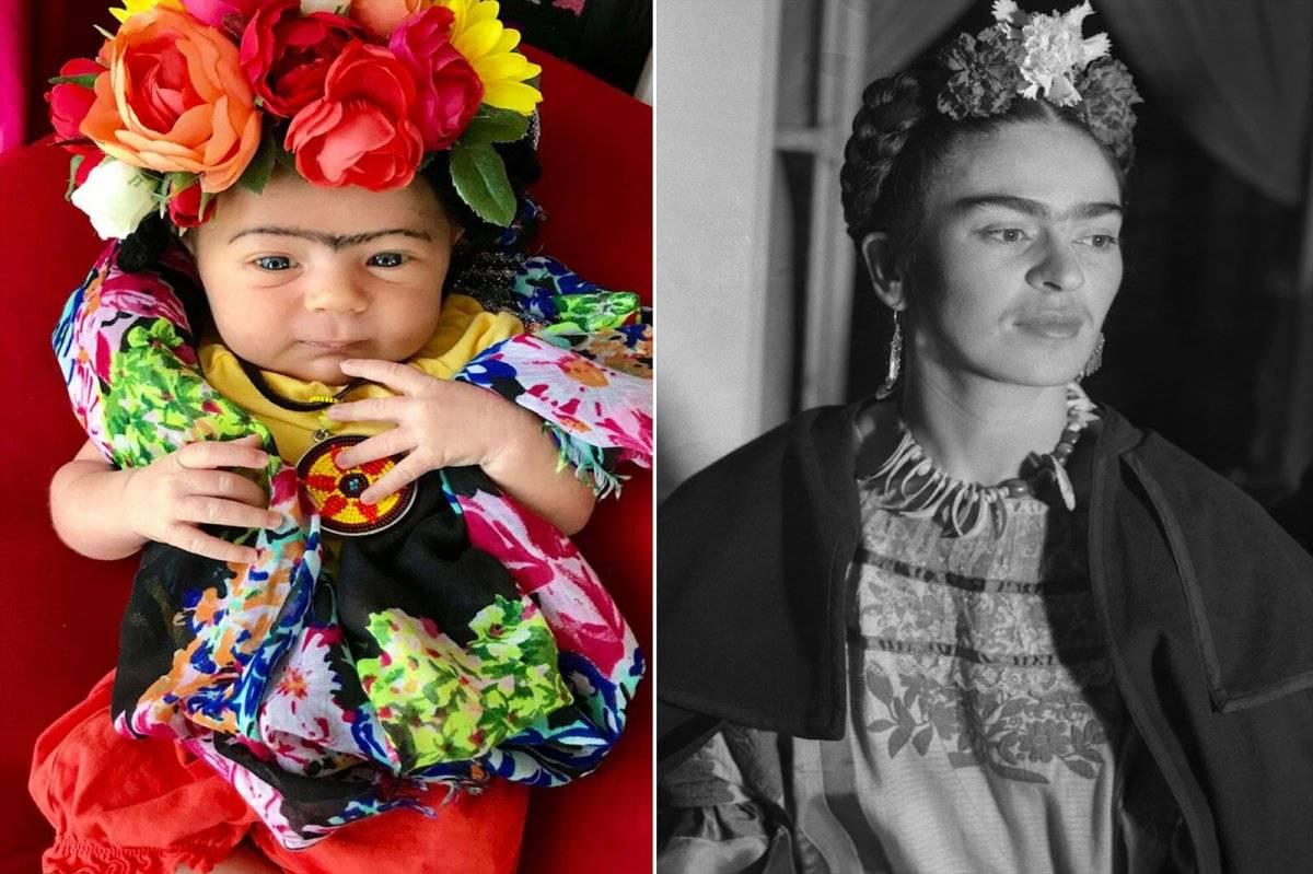 Frida Kahlo Bebé
