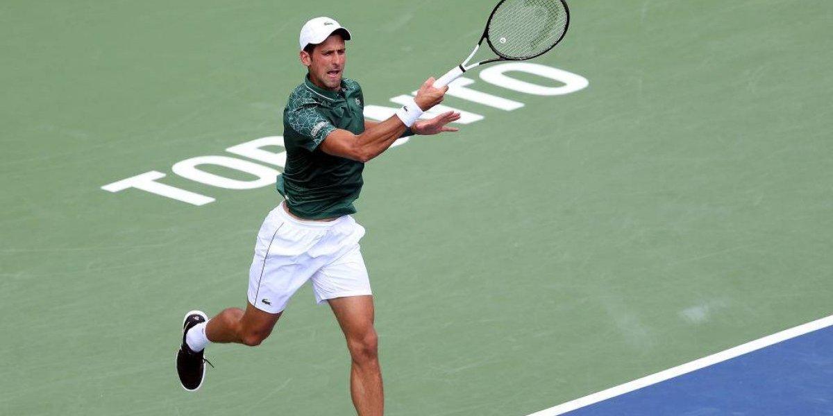 El joven Tsitsipas dio la sorpresa en Toronto al eliminar a Djokovic en octavos