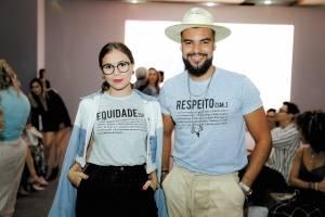 Estilosos: Mari de Carvalho e Hallison Campos