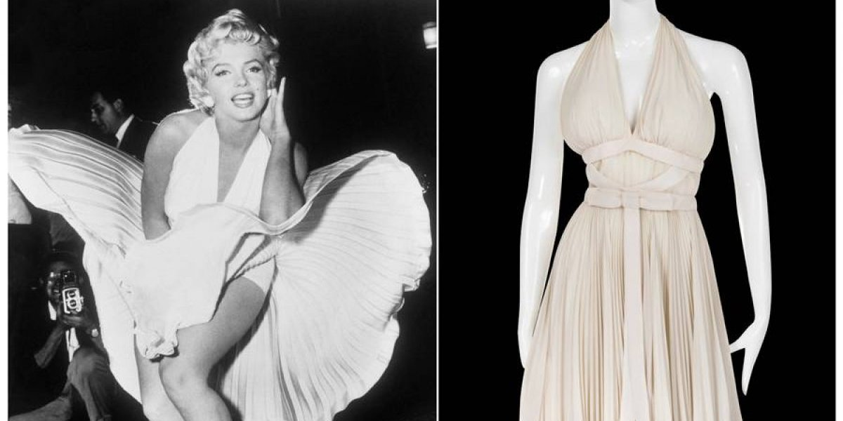 EE. UU.: Subastarán fotografías y vestidos de Marilyn Monroe