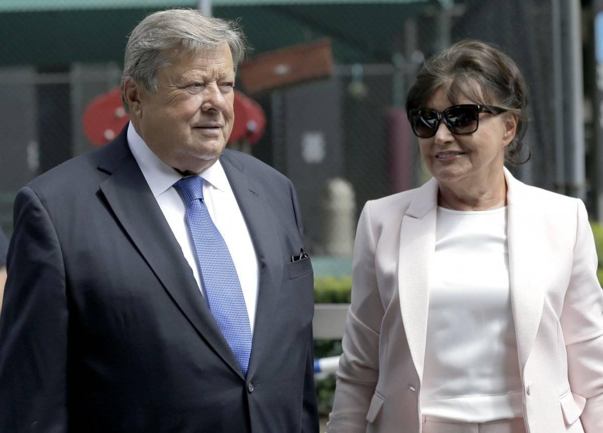 Viktor y Amalija Knavs, padres de la primera dama de EU