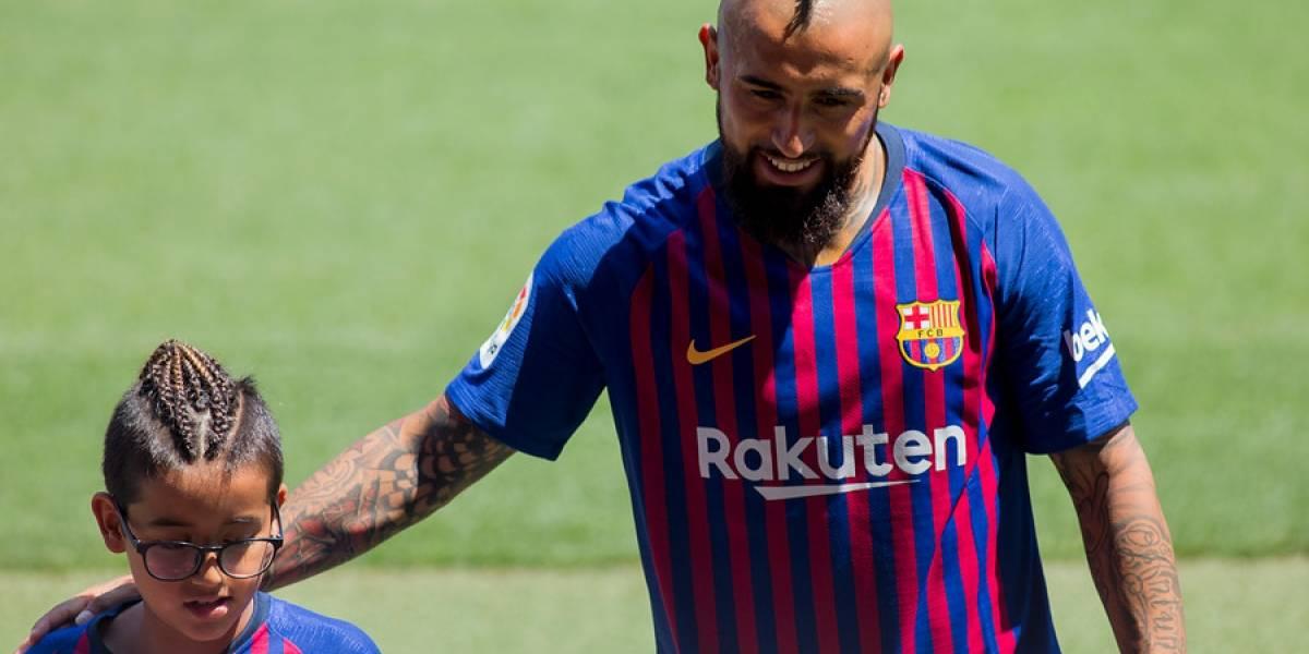 Barcelona reveló cómo fueron las intensas primeras 24 horas de Arturo Vidal en el Camp Nou