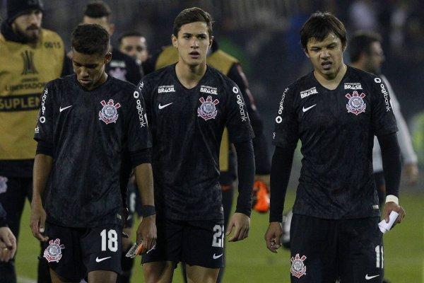 Corinthians sufrió / imagen: Photosport