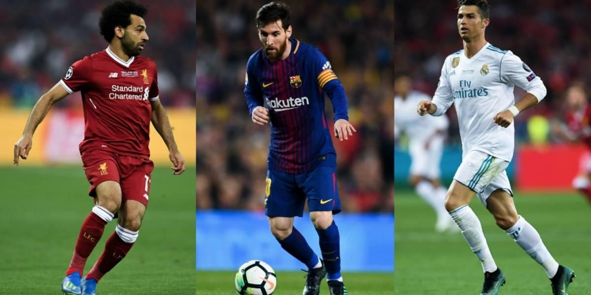 Sin Neymar, la UEFA nomina a los mejores jugadores de la Champions