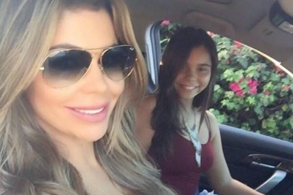 Bebe Maldonado y su hija Andrea Mya