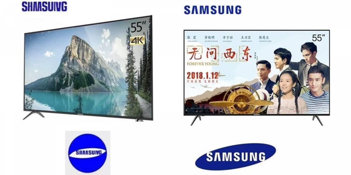 SHAASUIVG, el vulgar plagio a Samsung que salió en Asia