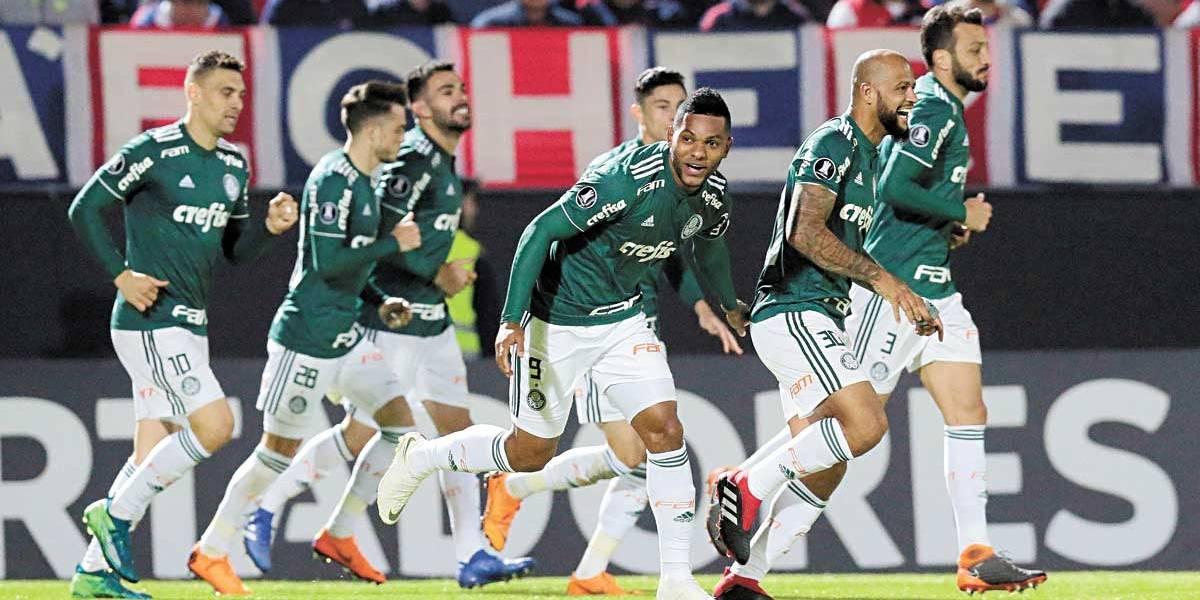 Borja marca duas vezes e Palmeiras bate Cerro Porteño no Paraguai