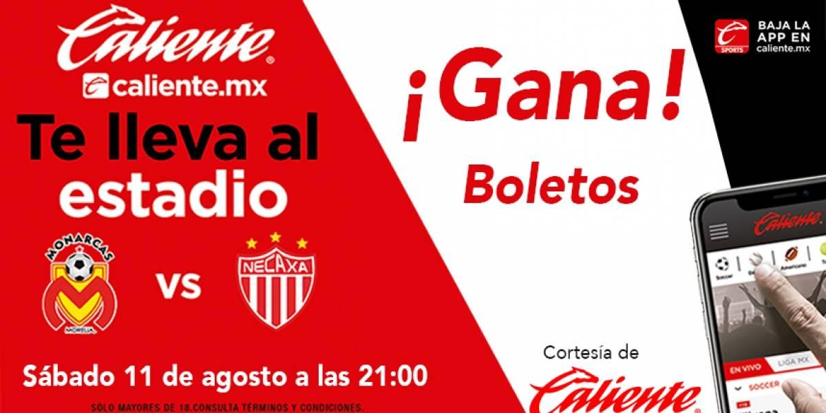 ¡Gana! boletos para Morelia vs Necaxa