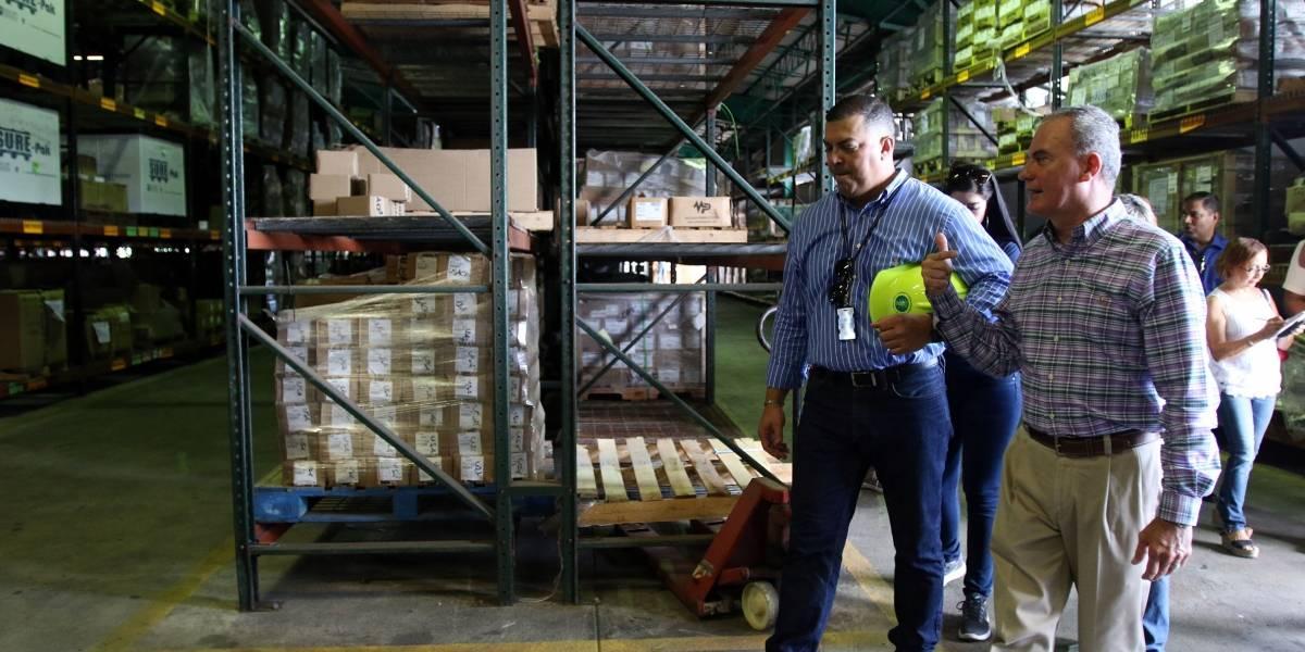 Comisión inspecciona almacenes de AEE