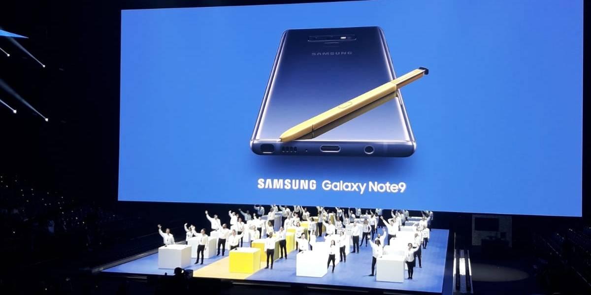 El nuevo Samsung Galaxy Note 9: ¡Larga vida a la batería y Fortnite!