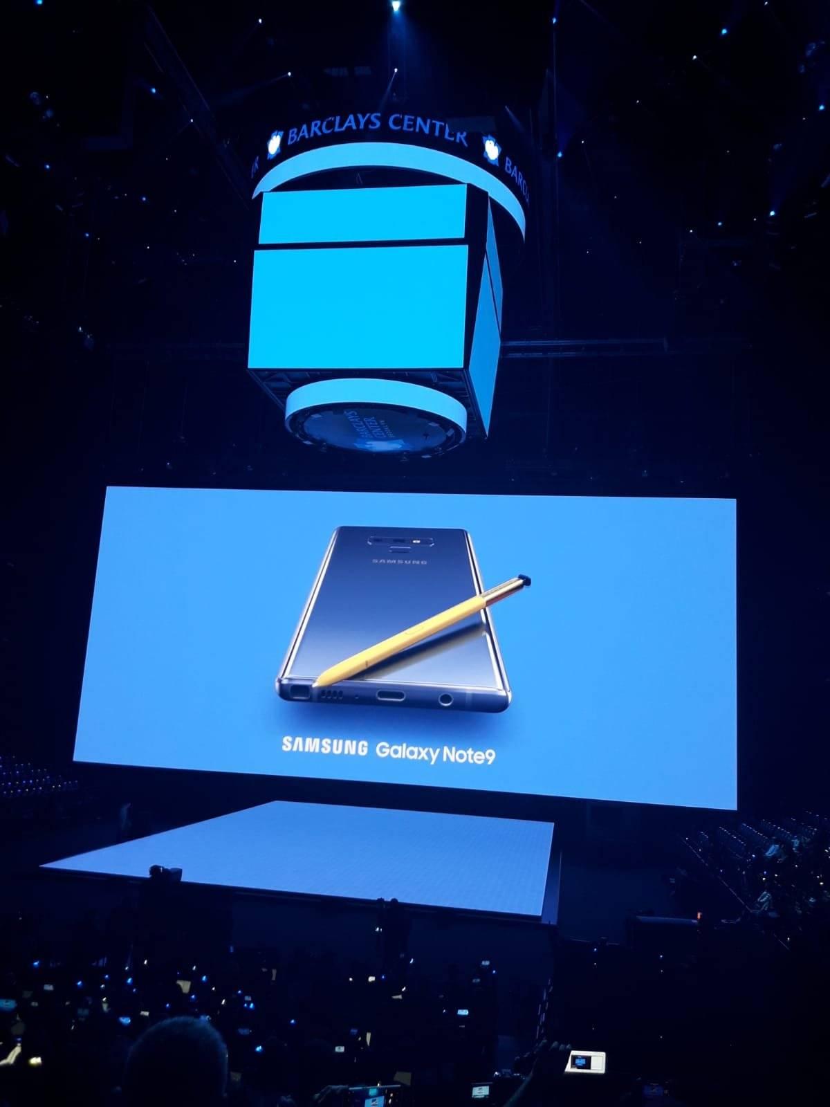 Lanzamiento Galaxy Note 9 en Nueva York