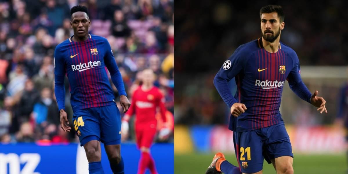 Yerry Mina y André Gomes dejan el Barça y se van al Everton