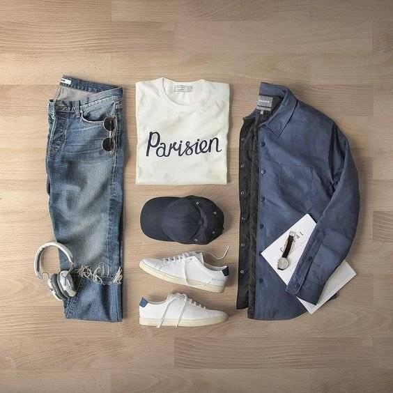 Si ya comenzaste o estás a punto de comenzar un nuevo año académico en la universidad, además de los libros, saca un espacio para pensar sobre tus outfits. / Foto: Pinterest