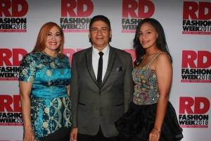 Marisol Henriquez, Bizmark Morales y Krymer Cordero