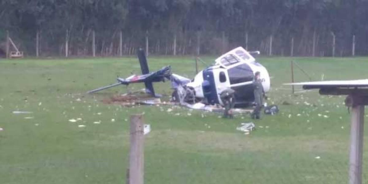 Helicóptero que transportava governador do Espírito Santo cai