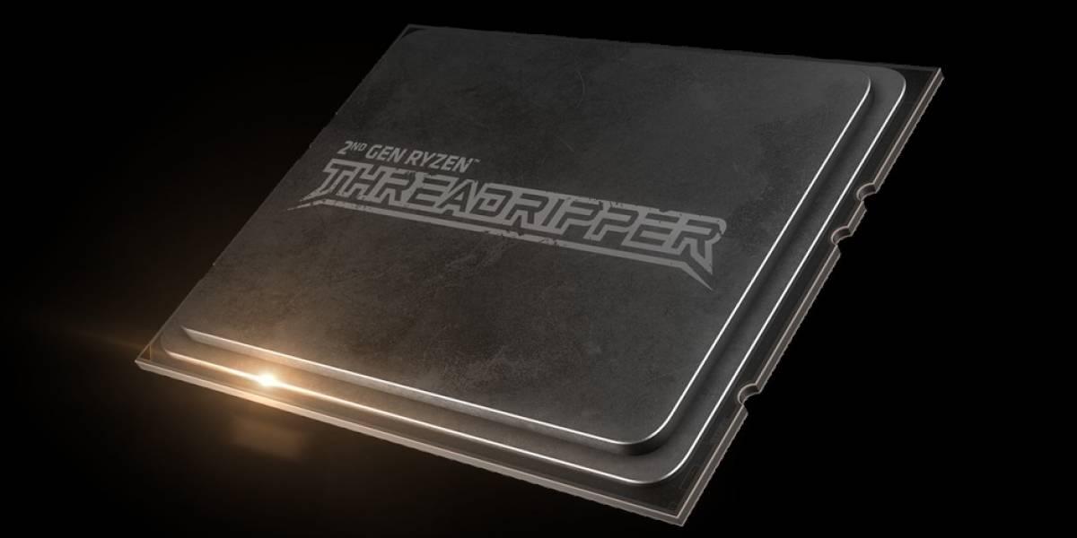AMD comenzó la preventa de su nuevo procesador Ryzen Threadripper de segunda generación