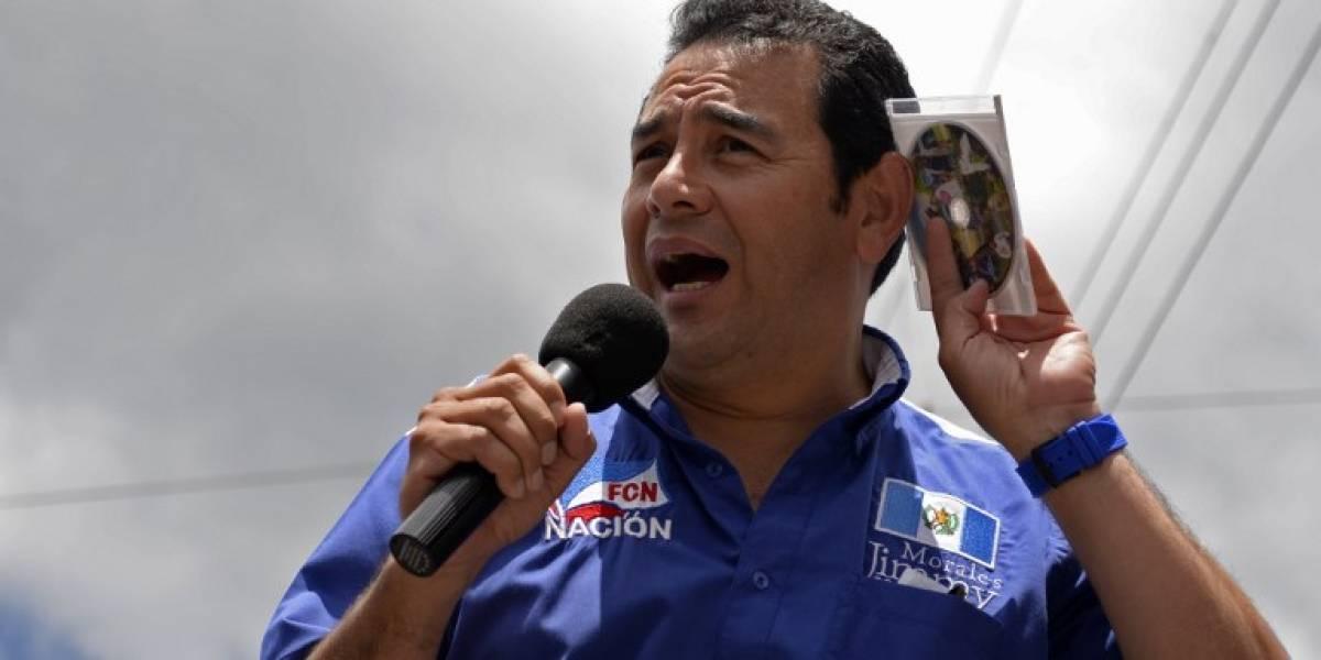 CSJ recibe antejuicio contra el presidente Jimmy Morales