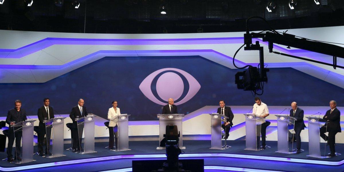 Sin Lula da Silva, celebran primer debate presidencial en Brasil