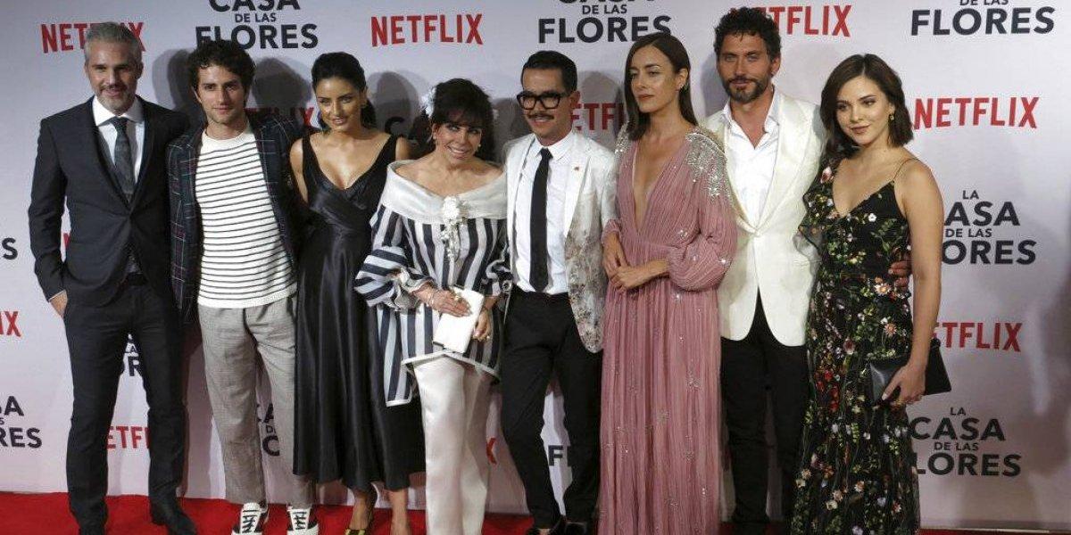 """Verónica Castro da salto de fe con """"La Casa de las Flores"""""""