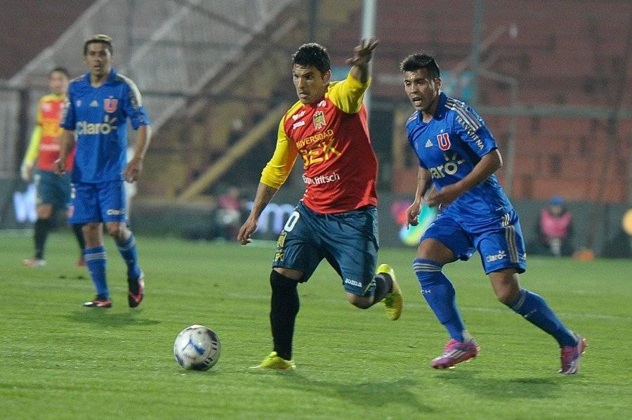 El Pochi Chávez jugó entre 2014 y 2015 en Unión Española / Foto: Agencia UNO