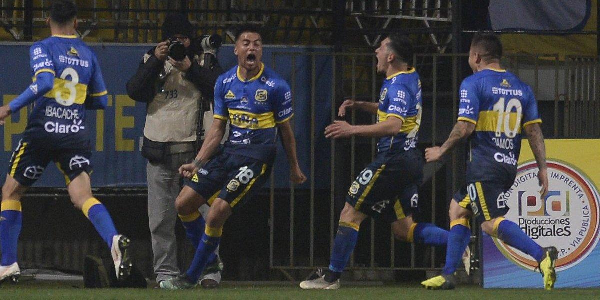 Tanque de oxígeno para Everton: derrotó por la mínima a la Universidad de Concepción