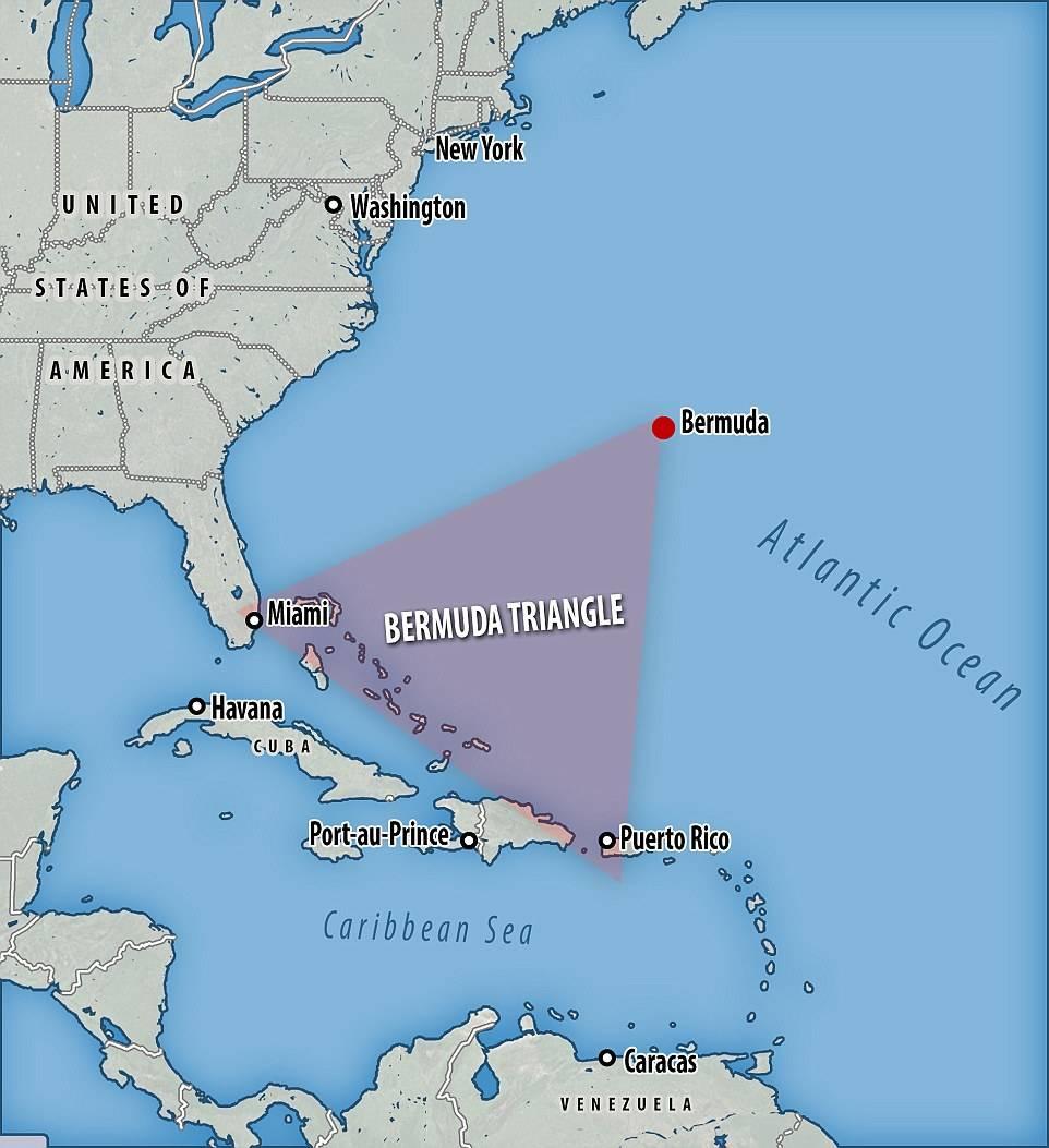 ¿Qué? ¿Una nave extraterrestre en el Triángulo de las Bermudas?