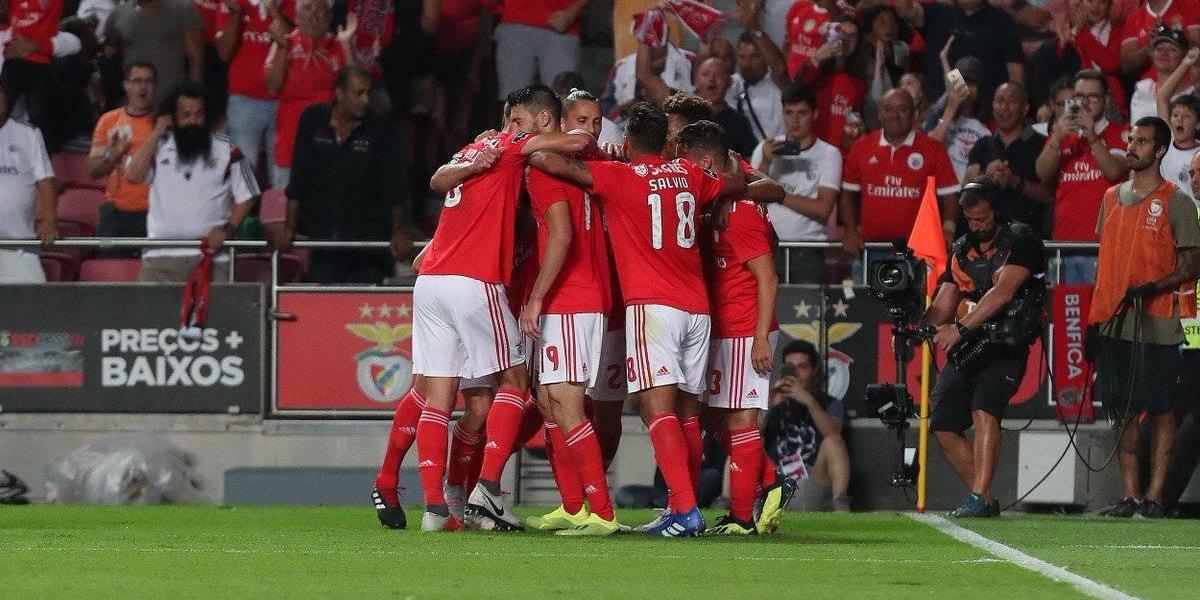 Sin Nico Castillo, Pizzi fue el salvador del Benfica en el estreno de la liga portuguesa