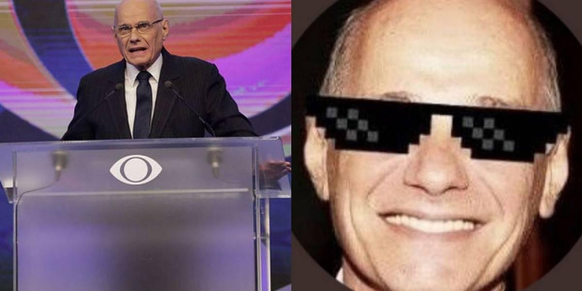 Debate Band: mediador brilha e internet declara: 'voto no Boechat'