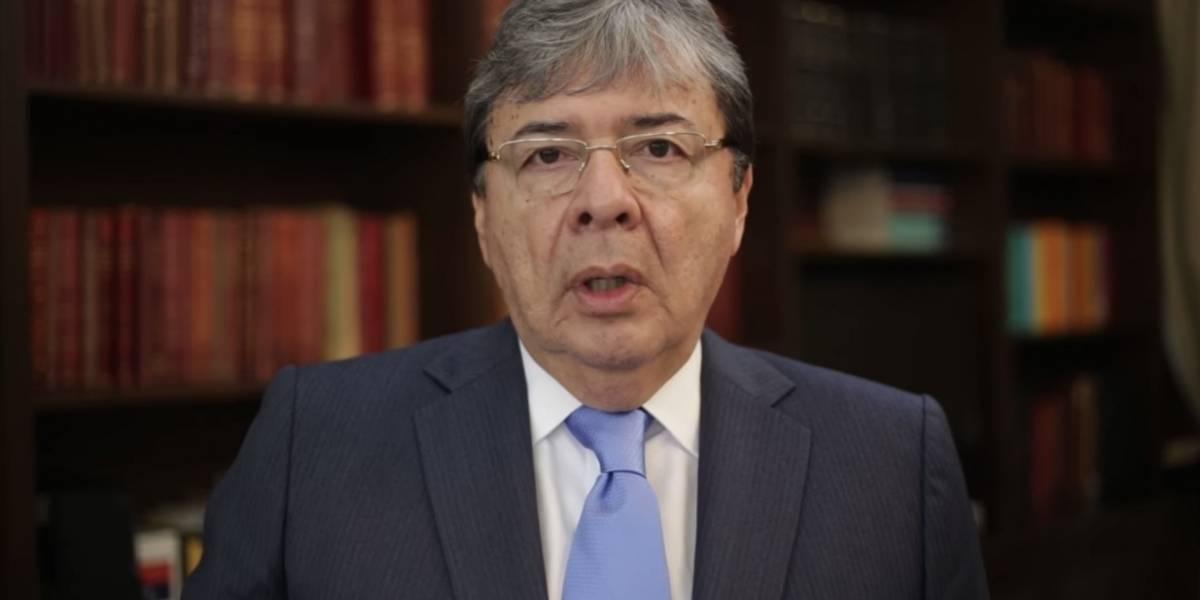 El canciller, Carlos Holmes Trujillo, pide más apoyo para atender a los refugiados venezolanos.