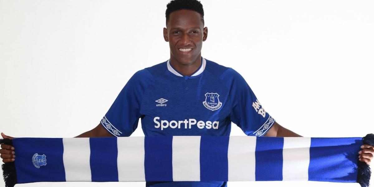 La dura noticia que recibió Yerry Mina tras su llegada al Everton