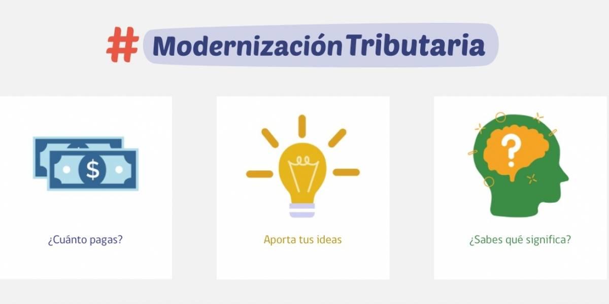 Podrás aportar tu idea para la reforma: Hacienda busca innovar tras lanzamiento de sitio web de Modernización Tributaria