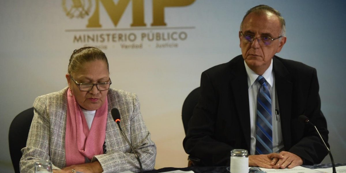 MP trasladará información al TSE para posible cancelación de partidos