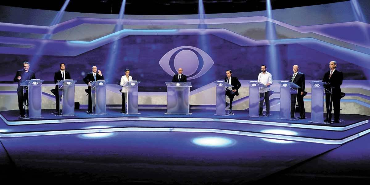 Economia domina o primeiro debate na Band