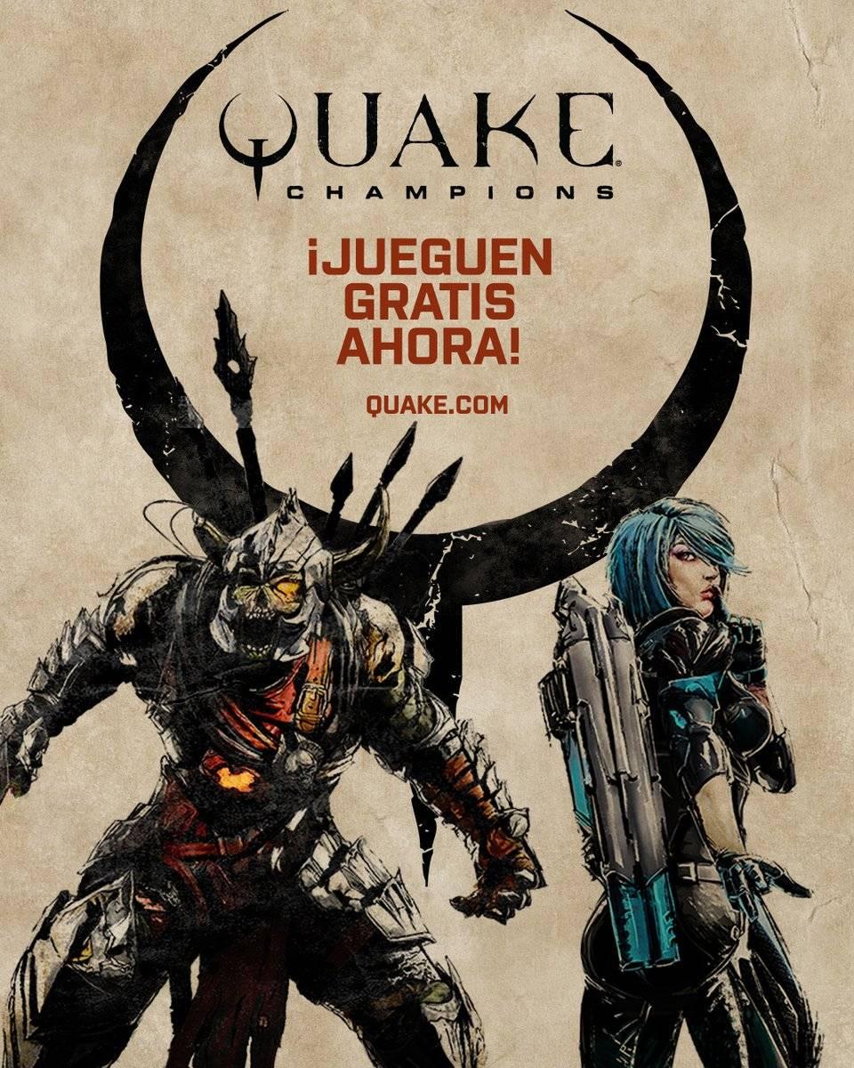 Quake Champions ahora es free to play y ya puedes descargarlo