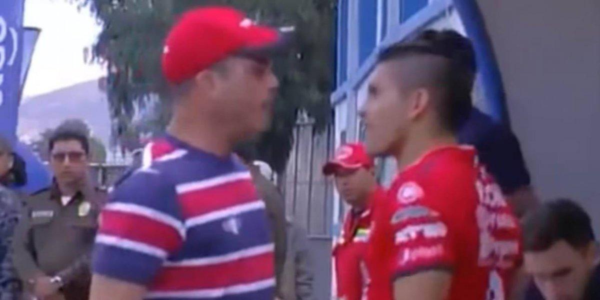 Se calentaron los ánimos: ex Unión Española se fue a los puños con su asistente técnico en Bolivia