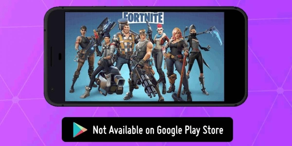 Dejar a Fortnite fuera de la Play Store podría costarle 50 millones de dólares a Google