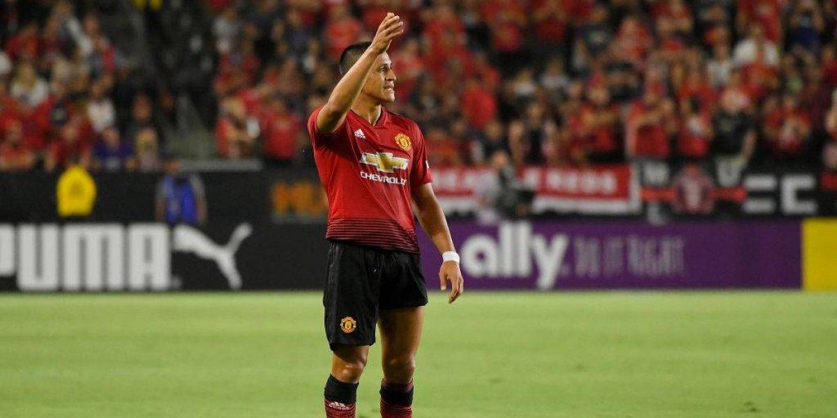 ¿Por qué Alexis Sánchez no fue convocado por Mourinho en el United ante Brighton?