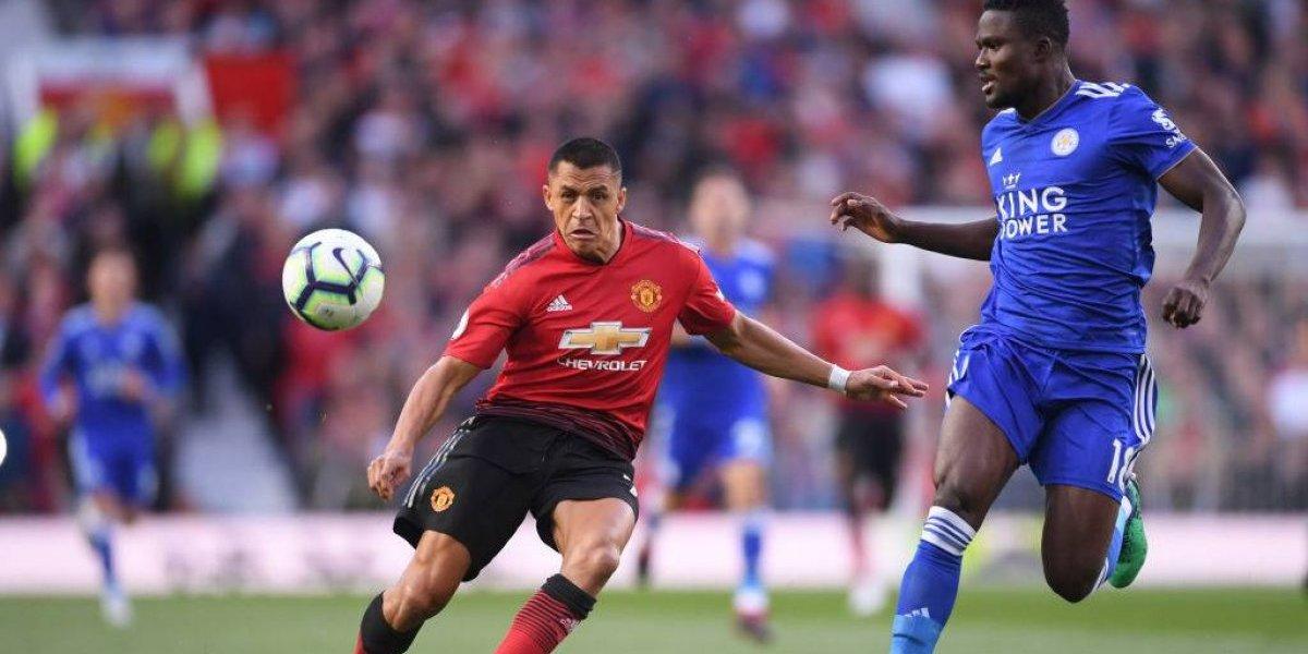 Alexis Sánchez tuvo un debut ganador en la Premier con un opaco Manchester United