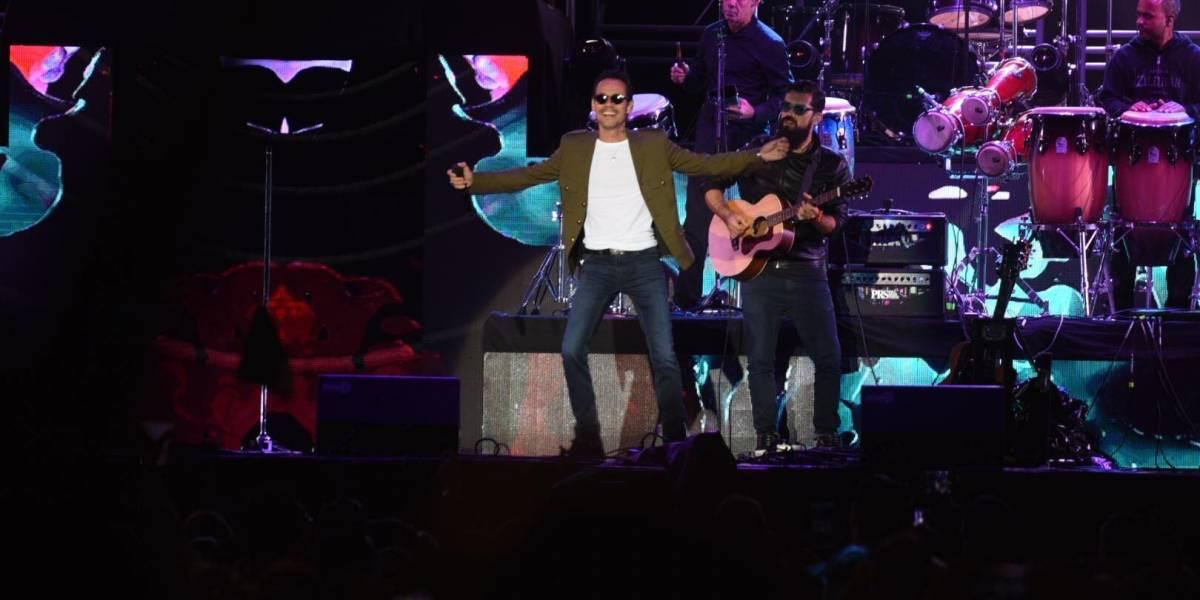 EN IMÁGENES. Así fue el concierto de Marc Anthony en Guatemala