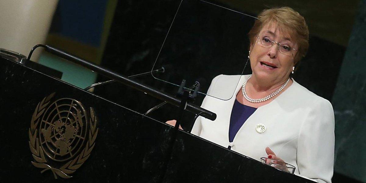 """""""Distinguida"""" y """"tiene nuestro apoyo"""": con felicitaciones confirman a Bachelet como Alta Comisionada de Derechos Humanos de la ONU"""