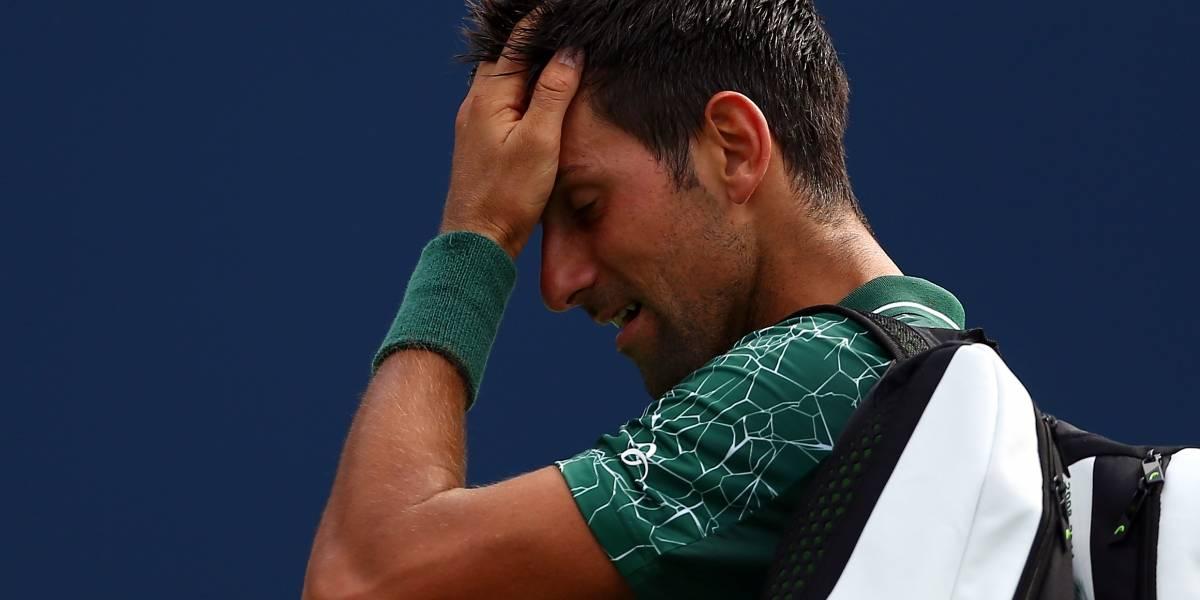 Tsitsipas sorprende a Djokovic y lo elimina del Master de Toronto