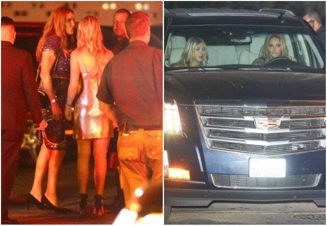escándalo mujer fiesta Kylie