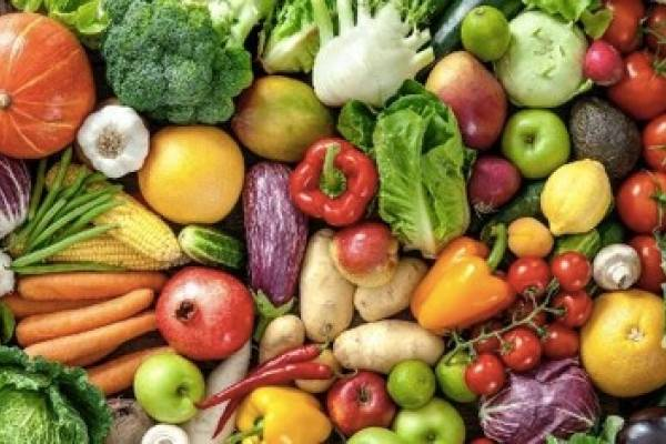 Frutas e legumes são ricos em antioxidantes e substâncias anti-inflamatórias