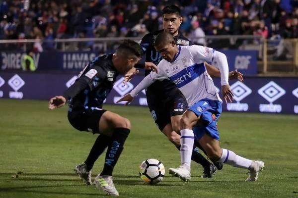 César Munder jugará su primer partido como titular en la UC en la segunda ronda del torneo / Foto: Photosport