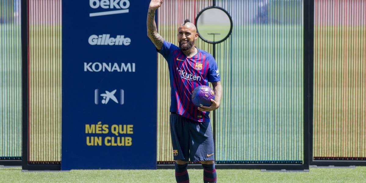 Messi es el mejor de la historia — Arturo Vidal