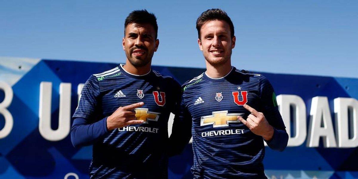 Henríquez y Espinoza están habilitados en la U y podrían jugar este sábado ante Unión Española
